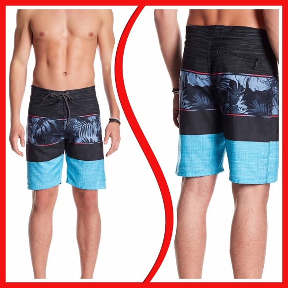 a94df8af18 burnside Swim | K Blue Trunks Shorts Nwt 34 | Poshmark